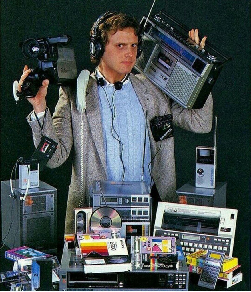 All of these devices are now found in one device, in your pocket. https://t.co/QNma8HFxXQ