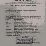 #jogja | 2/10/16 20.00 Lampah Budaya Mubeng Beteng, kirab satu suro di Keraton Yogyakarta ~ @YA_YAN_: https://t.co/FPnisGBJWv