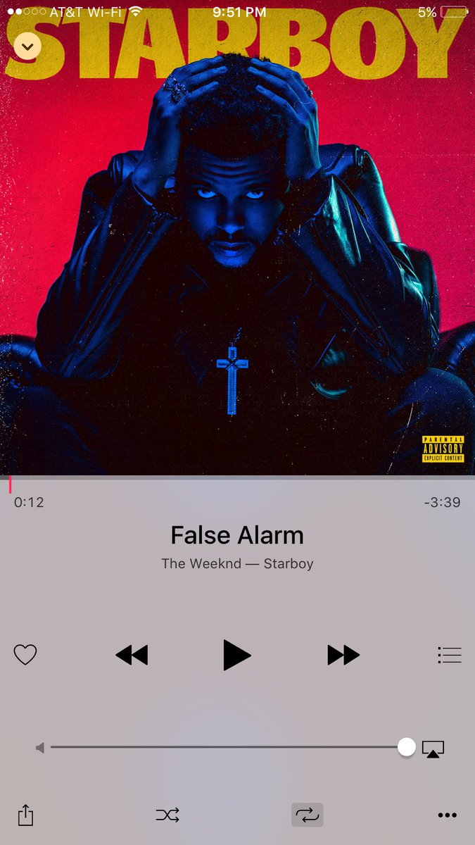 This is the kind of song that makes me thankful I'm alive in this era #Falsealarm  @theweeknd https://t.co/toLn1q0H6W