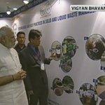 LIVE: PM @narendramodi to inaugurate India Sanitation Conference shortly https://t.co/2KGKekXTXv https://t.co/5FrnGpOXu9