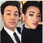 """This pic brings a whole new level to """"get you a man that can do both"""" @MannyMua733 my idol ❤️❤️❤️ https://t.co/tTHyTJC2VU"""