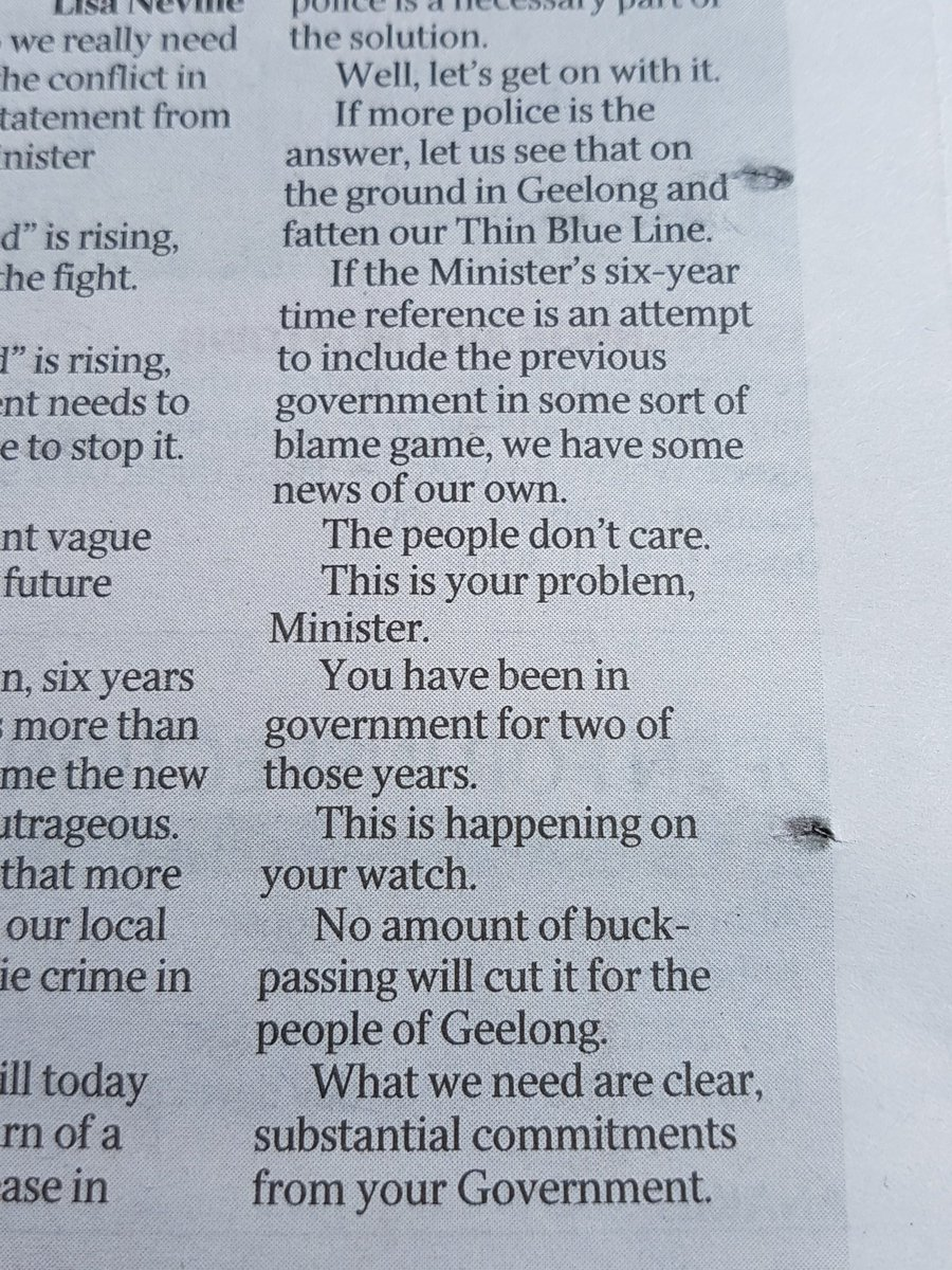 HERE HERE @geelongaddy brilliant editorial !! Another state disgrace and our losing our city under this govt #mayor https://t.co/bcjO89DrEJ