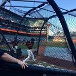 Kelby in the cage. #👓 #SFGiants https://t.co/TFXfik5lBu
