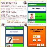 RT Y VOTA para que @flor_vigna gane como CHICA TRENDY! …https://t.co/WSSdHQJ4FY … #KCAArgentina #FlorVignaTrendy https://t.co/ScPEMuyRtG