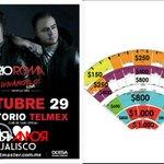 Tan sólo un mes no Faltes #VivámosloTour aún hay boletos  #RíoRomaEnElAuditorioTelmex https://t.co/mh25lNyhnQ