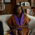 Like a queen on her throne! #HTGAWM https://t.co/ITpKg3WxUY