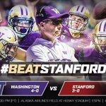Dawgs lets goooooo! Time to #BeatStanford #PurpleReign stand up. ☔️☔️☔️☔️☔️☔️☔️☔️☔️☔️ https://t.co/MQ3BojqmLd