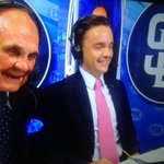 Now this is cool. @Deohmy and his son @TeddyEnberg on the HOFers final home game! https://t.co/t8qIr4e3l6