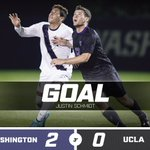 UPDATE: 20 and Washington still leads 2-0 after Jackson and Schmidts goals https://t.co/JjJv352pPw