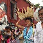 Participó Francisco Toledo en calenda de estudiantes por la defensa del maíz nativo #Oaxaca https://t.co/MXm7q2OvTv