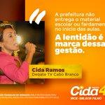 #Cida40 #DebateTVCaboBranco https://t.co/DxboEEkduu