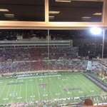 You only get 6 chances a year fans to see the Red Raiders play at home. You pay for season tix, parking, food... yet you leave at half. SAD! https://t.co/gVmpE1cmbK