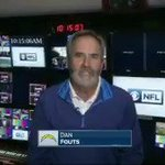 """""""You have touched all of us."""" @Chargers great Dan Fouts sends his congratulations to Dick Enberg. #OhMy https://t.co/bueVf4RATg"""