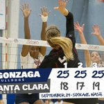 Its a (corrected) final as the Zags sweep the Broncos to open the home slate! #GoZags https://t.co/B88fLUtPS6