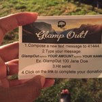 Support @OutdoorAfro during the #glampout tonight! Its easy!! #outdoorafro #oakland #selfcare #hikes https://t.co/4N4lRp3itF