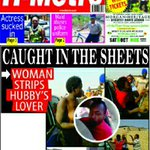 Todays #coverpage: Caught in the sheets @larry_moyo @kvgroyalty @shumbapazvese @BTonhodzayi @chiefkoti @Zimpapers https://t.co/ZU5A9OqAyM