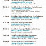 Acompáñenos a la toma de protesta de los 11 presidentes y cabildos municipales. https://t.co/jbJE3O1bYk