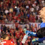 🔴🔵📷 ¡El Ciclón está en cuartos! Así festejaron los azulgranas. #CopaSudamericana ¡Vamos Ciclón! https://t.co/zj59ovjQeP