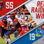 🔔Red Raiders Win!🔔 #TexasTech defeats Kansas, 55-19, to improve to 3-1 this season! #WreckEm https://t.co/RQp1JEZKgO