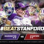 Tomorrow. #BeatStanford #PurpleReign https://t.co/VKnvUQFrW2