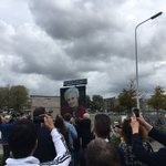 Heel mooi dit! Onthulling van het Els Borst-Eilersplein voor het @HagaZiekenhuis in #DenHaag. #D66 https://t.co/YM9pNBXy1i