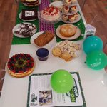 Well done to everyone at Rock. All homemade??? #MacmillanCoffeeMorning https://t.co/VuaPgHZ9rm
