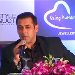 """Actor Salman Khan backs Pakistani artists, says """"Actors and terrorists are different. Actors come with valid visa"""" https://t.co/XL16oyrzrt"""