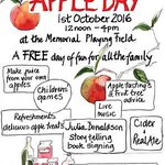Its the annual Apple day tomorrow - A free day of fun for all the family!! #local #apples #familyfun #free https://t.co/aIDuHe3NaU