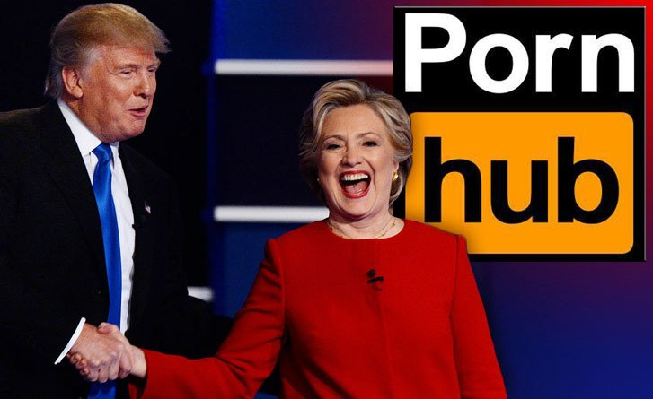 Pornhub Viewership Dropped 16 During First Presidential Debate With Biggest Drops In Democratic And Swing States Scoopnest Com