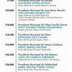 @CarlosJoaquin asiste a 11 tomas de protesta este 30 de septiembre #QuintanaRoo #OportunidadesParaTodos https://t.co/bNKOVc56fP