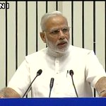 Delhi: PM Narendra Modi speaking in Vigyan Bhavan at the inauguration of INDOSAN (India Sanitation Conference) https://t.co/oqEw4KKFgs