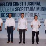 Recibe Remberto Estrada el mando del cuerpo policial de Seguridad Pública de #BenitoJuárez  @rembertoestrada https://t.co/UevnHOEumb
