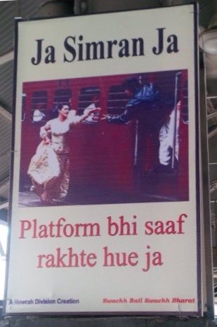 The Indian Railways' new agency has given them a sense of humour! https://t.co/9NS01r58sK