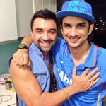 All the best my brother for Dhoni your hard work I have seen Allah bless u yaro watch Dhoni for my brother @itsSSR https://t.co/smOwTWoHFq