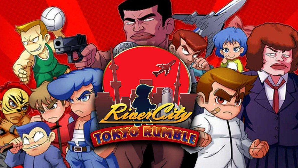 Resultado de imagen de River City: Tokyo Rumble