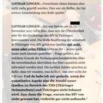 """L. LINGEN, ex-Referatsleiter BfV,  gegenüber der BAW: """"Vernichtete Akten können… nicht mehr geprüft werden."""" #nsu https://t.co/CDcmsYqAIi"""