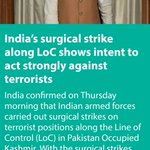 India's surgical strike along LoC shows intent to act strongly against terrorists https://t.co/ca2oImxSAr via NMApp https://t.co/xO0p8JbUuS