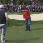 Heckler sinks shot that Rory McIlroy couldn't during #RyderCup practice round https://t.co/1NFyMHm9iU (GM) https://t.co/NxAlqYl0lm