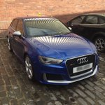 Beautiful RS3 for exterior valet, no idea how we dodged the weather #GLASGOW #scotland #valetage https://t.co/4Ch7ihsyrJ