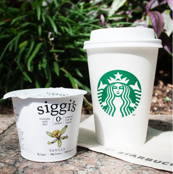start your morning with us! vanilla siggi's is now available at most @starbucks locations nationwide! #dailysiggis https://t.co/0jIpB5FRNB