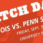 GAME DAY!!! The #Illini take on No. 14 Penn State tonight at 5! https://t.co/ZQGEvnX8C4