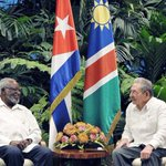 Recibió Raúl a Sam Nujoma https://t.co/78jDKpGuLI #Cuba #Namibia https://t.co/0zuw6cBmPd