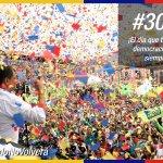 #30S el día que triunfó la democracia, el día que triunfó el pueblo sobre los golpistas. #ElPasadoNoVolverá https://t.co/dogL1Zsjku
