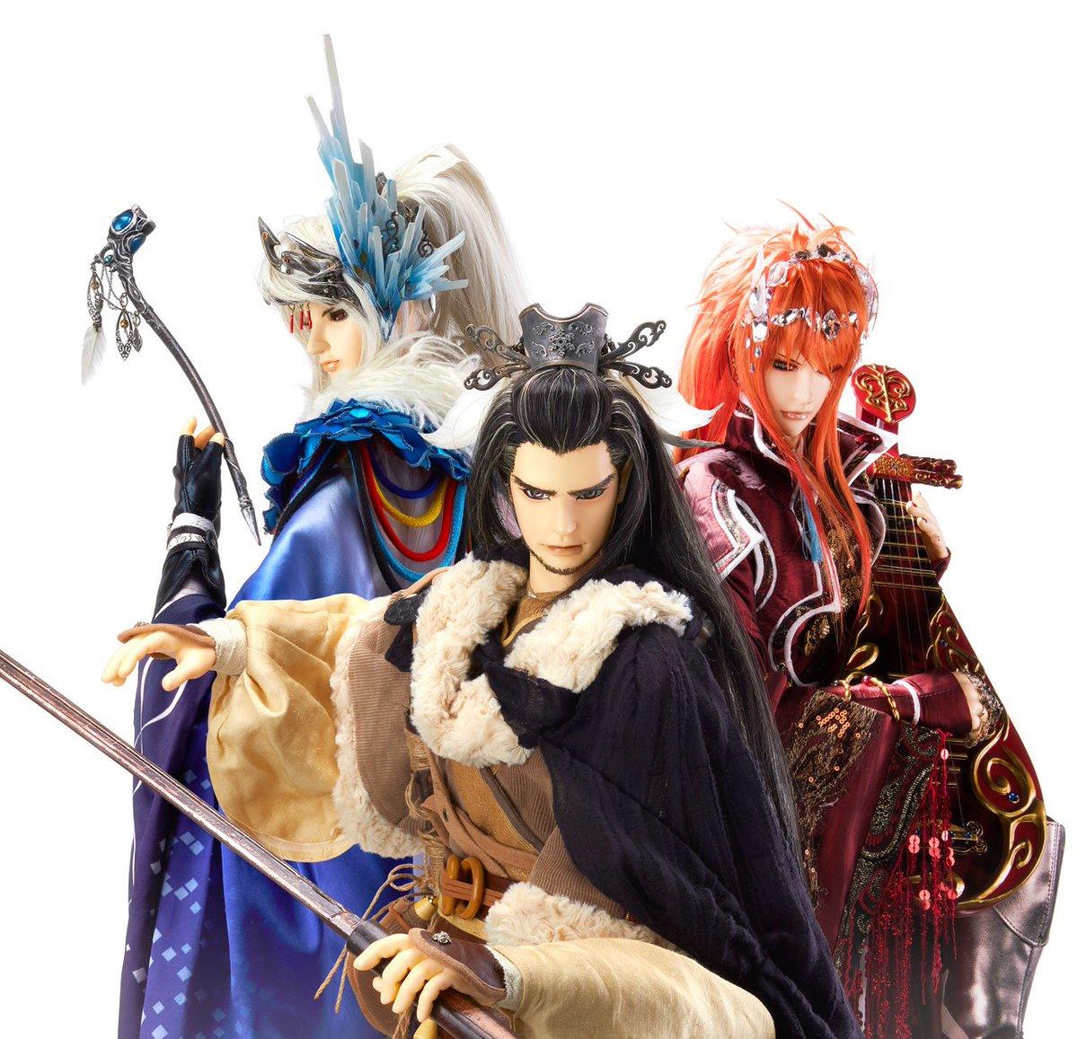キ!キービジュアルに西川ちゃん人形が入ってるーーー! RT  【速報】「Thunderbolt Fantasy 東離劍遊