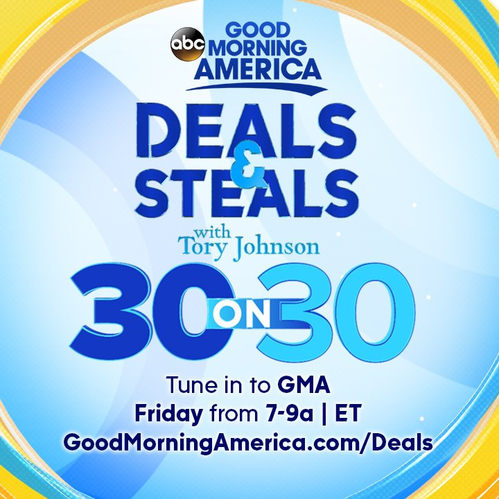 Good Morning America Great Deals : Gma yahoo steals and deals gift ftempo