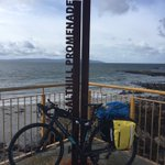 The bike made it to #SaltHill #Galway! #Ireland https://t.co/vY2aLuhMj6