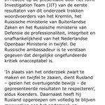 """Minister Koenders ontbiedt Russische ambassadeur over #MH17. """"Ongefundeerde kritiek van Rusland is onacceptabel."""" https://t.co/yU6PtSMR86"""