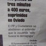 A PP y Cs que no les den 400 euros por tres minutos les parece demagógico, y los subnormales seguirán votándoles https://t.co/SQAbVrAAlG