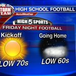 "The first Friday night of the season that actually feels like ""football weather""! @High5Sports @GoodDayAtlanta https://t.co/g4Kl5ATqnJ"