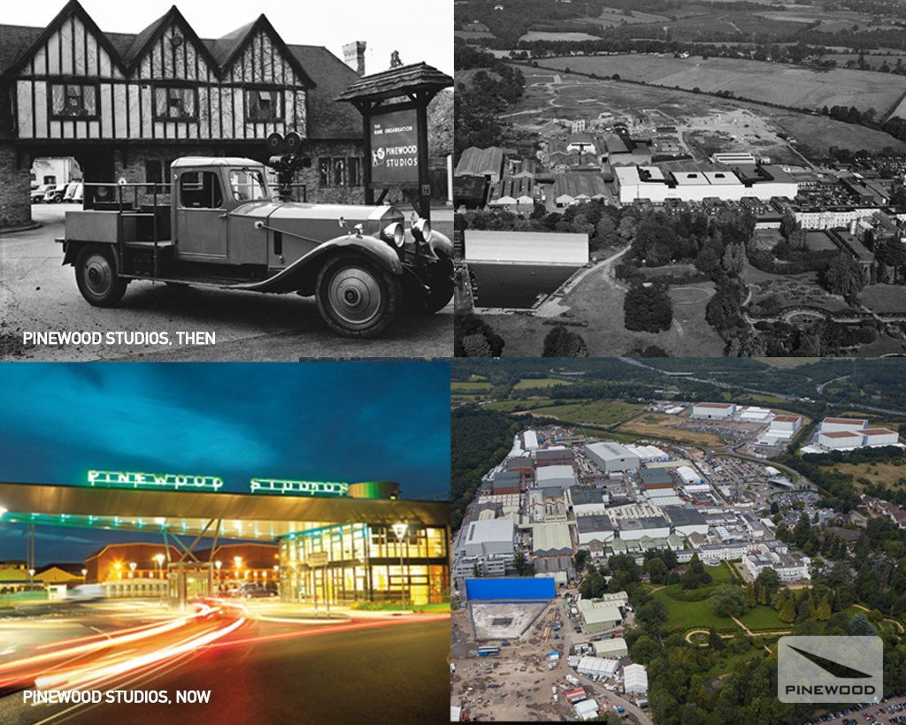 #PinewoodStudios was officially opened on this day in 1936. Now entering our 80th year! https://t.co/rh9PmSer4R